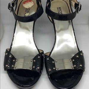 Michael Kors Snakeskin Sandals Heels
